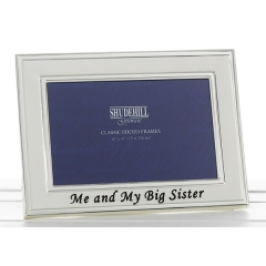 me & my big sister frame 6x4