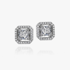 sterling silver cz earings
