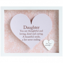 'daughter' heart frame