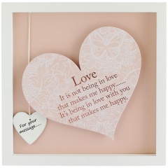 'love' heart frame