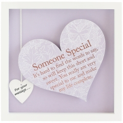'someone special' heart frame