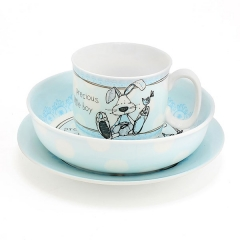 little miracles feed set blue