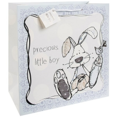 little miracles gift bag blue large